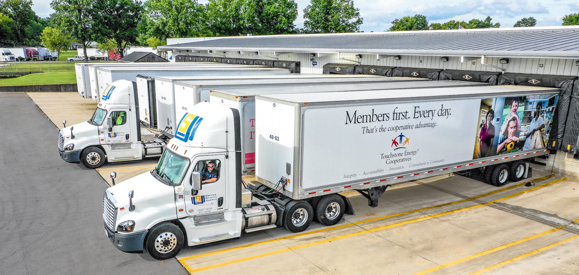 United Utility Supply Trucking Fleet